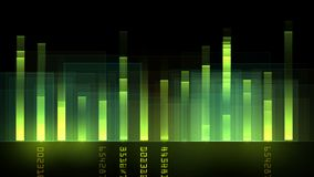 4k Audio equalizer,music rhythm Volume,speakers waves spectrum,heart-rate,vj. 4k Audio equalizer,music rhythm Volume,speakers waves spectrum,heart-rate,vj stock video