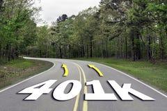 401K autostrada zdjęcia royalty free