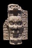 K'awiil, ceramiczna Majska kadzidłowego palnika baza Zdjęcia Royalty Free