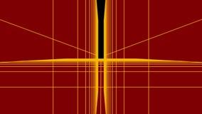 4k ayunan movimiento en el túnel digital, túnel abstracto de la tecnología, mosca a través de la fibra del circuito eléctrico del ilustración del vector