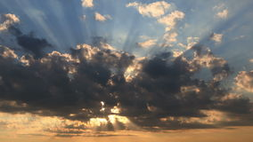 4k beautiful sunset Stock Photo