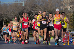 10k biegacze Zdjęcia Royalty Free