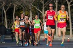 10k biegacze Zdjęcia Stock