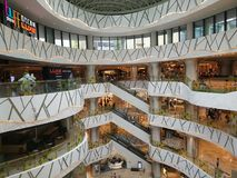 K11 business center. In Wuhan city , hubei province , china Stock Photos
