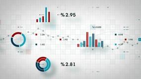 4K Business Data Tracking White