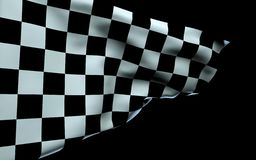 4K checkered flag stock video