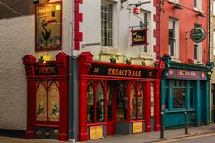 Kącika bar Youghal Irlandia fotografia stock