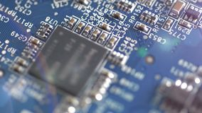 4k - Circuit board with electric components