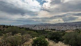 4k Cityscape Timelapse av Aten stock video