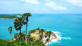 4K clips vidéo, cap de promthep terre 2019 à Phuket, Thaïlande clips vidéos
