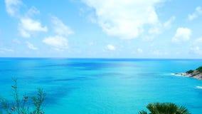 4K clips vid?o, le point de vue de mer de plage de paysage marin le plus beau pendant l'?t? ? Phuket, Tha?lande banque de vidéos
