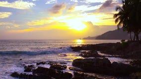 4K clips vid?o, le point de vue de paysage marin le plus beau pendant l'?t? ? Phuket, Tha?lande clips vidéos