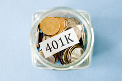 401k Royalty Free Stock Photo