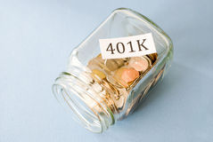 401k Royalty Free Stock Image