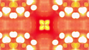 4K Colorful looping kaleidoscope sequence. Abstract motion graphics background. stock footage