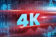 4K concept Royalty Free Stock Images