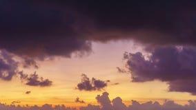 4K Day to Night Time-lapse : beautiful sunset with fast running clouds. 4K/UHD Day to Night Time-lapse : beautiful sunset with fast running clouds stock video