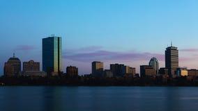 4K de dag van UltraHD Timelapse Boston aan nacht