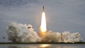 4K de Inzameling van NASA Cinemagraph - Pendellancering stock illustratie