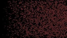 4k de rode sporen die van de bacteriënmicroben van bloedcells&algae, de achtergrond van wormeieren zwemmen vector illustratie