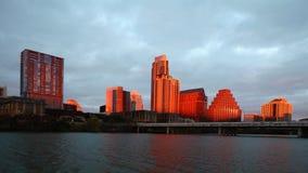 4K de zonsondergang van UltraHD Timelapse van de Austin-horizon stock videobeelden