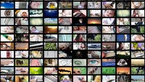 8K des Videowandmedienströmens stock video footage