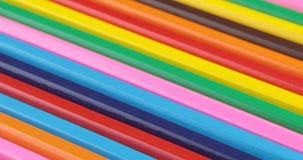 4k disegnano a matita il fondo Gruppo geometrico uniforme di matite grafiche video d archivio