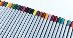 4k disegnano a matita il fondo Gruppo geometrico uniforme di matite grafiche archivi video