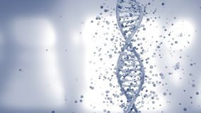 4K DNA Gene Editing Concept.