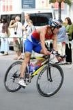 Kędzierzyn-Koźle Triathlon Cycling Royalty Free Stock Image