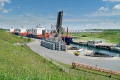 kędziorki target2519_1_ zbiornikowiec do ropy Zdjęcie Stock