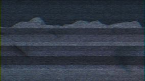 4K estilizó daño del error de la interferencia del ruido del pixel ilustración del vector