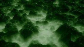 4K extracto Ferrofluid almacen de metraje de vídeo