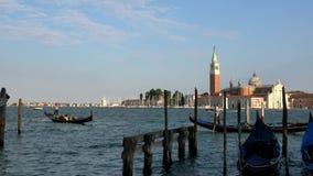4K Férias românticas em Veneza San Giorgio Maggiore visto de San Marco vídeos de arquivo