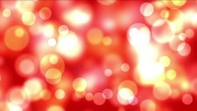 4k fajerwerków lekkich kropek Abstrakcjonistyczny tło, bąbel cząsteczki, bakteria zarodniki zdjęcie wideo
