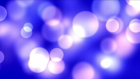 4k fajerwerków lekkich kropek Abstrakcjonistyczny tło, bąbel cząsteczki, bakteria zarodniki zbiory wideo