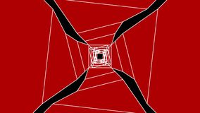 4k Fast movement in the digital tunnel,abstract technology tunnel,fly through data internet power electric circuit fiber,VR backgr. Ound,kaleidoscope stock video footage