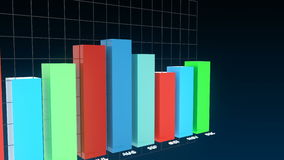 4k financial infographics animation stock footage