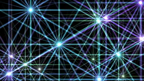 4k Flare stars,starlight stage sky universe,flash disco fireworks ray sparkle. stock video