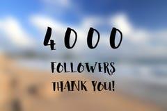 4k followers