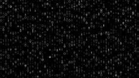 4k 60fps детализировало петлю темной предпосылки движения цифров видео- видеоматериал