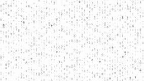 4k 60fps detalló el lazo video de Digitaces del fondo brillante del movimiento ilustración del vector
