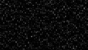 4k 60fps detalló el lazo video de Digitaces del fondo oscuro del movimiento metrajes
