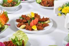 Köfte ruw vleesballetje à ‡ iÄŸ Stock Afbeeldingen