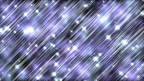 4k gör sammandrag stjärnalinjen etappbakgrund, sjövattenkrusningar vinkar, siden- väva stock video