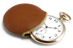 14k gold pocket watch Stock Photo