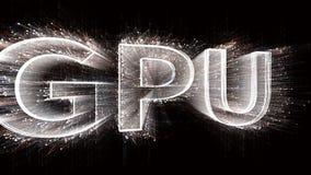 4k GPU Chip microprocessor Microchip hardware word tag,binary computer code.