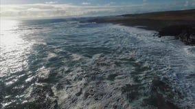 4k HD 在悬崖的灯塔 影视素材