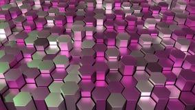 4K heksagonalna siatka ilustracja wektor