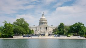 4k hyperlapse βίντεο των Ηνωμένων Πολιτειών Capitol απόθεμα βίντεο